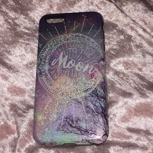 Holographic hard cover case